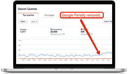 Google Penalty Assessment Services