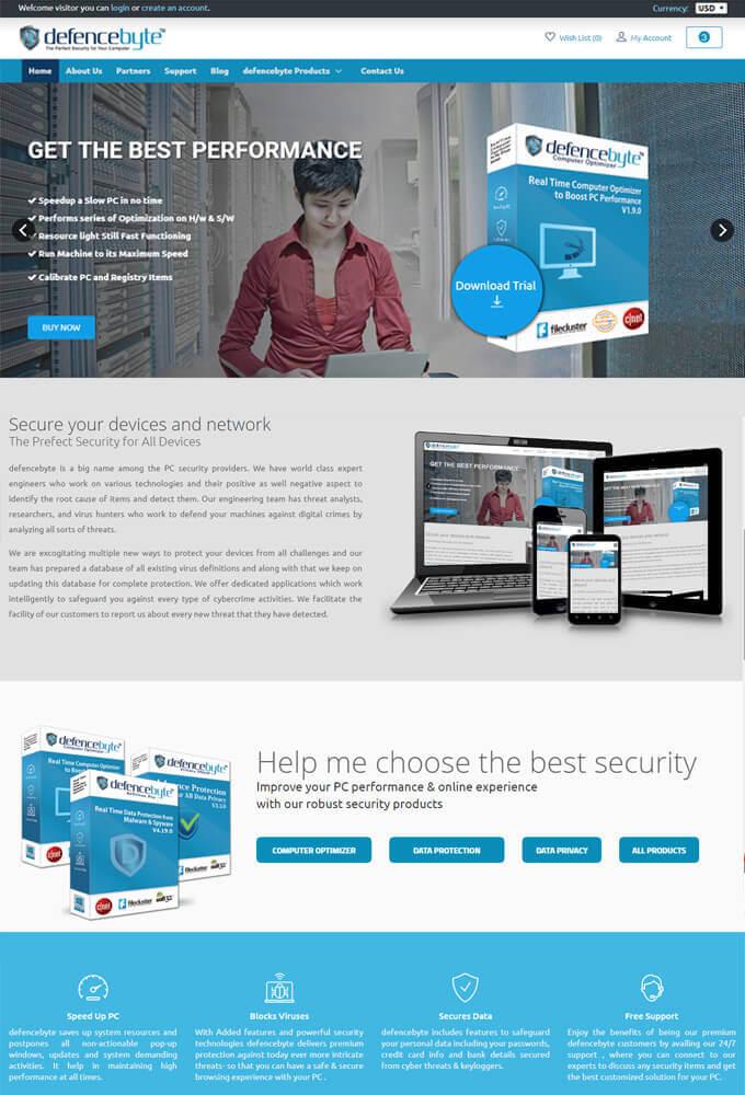 defencebyte portfolio - MagicByte Solutions