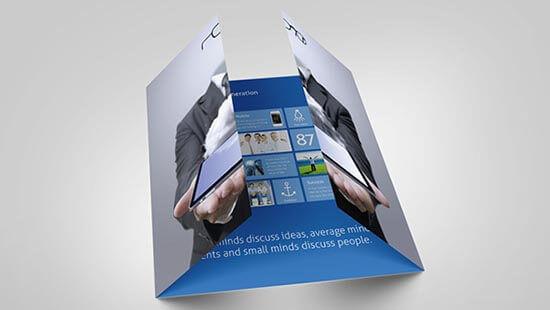 Single gate fold brouchers - MagicByte Solutions
