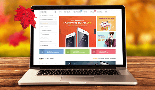 Prestashop theme - MagicByte Solutions